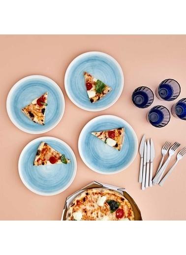 Bella Maison Pure Servis Tabağı (26) Mavi